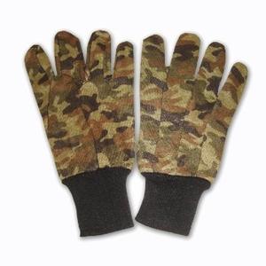 """18401 CAMO JERSEY GLOVES<font color=""""000000"""">"""