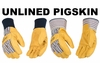 1917 & 1917KW UNLINED GRAIN PIGSKIN WORK GLOVES