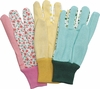 "19893 ""GARDEN TOUCH"" LADIES JERSEY GLOVES<font color=""000000"">"