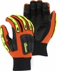 21243HO PREMIUM UNLINED WATERPROOF KNUCKLEHEAD X10™ ARMOR SKIN&#153 MECHANICS GLOVES W/IMPACT PROTECTION<br>CLOSEOUT PRICE $13.99