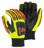 21247HY PREMIUM 100g THINSULATE&#153 LINED WATERPROOF KNUCKLEHEAD X10&#153 ARMOR SKIN&#153 MECHANICS GLOVES W/IMPACT PROTECTION<br>CLOSEOUT PRICE $14.99