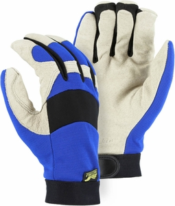 2152TW BALD EAGLE PREMIUM GRAIN PIGSKIN THINSULATE&#153 LINED WATERPROOF  MECHANICS GLOVES
