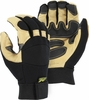 2160 BLACK EAGLE DELUXE GRAIN PIGSKIN UNLINED MECHANICS GLOVES W/REINFORCED PALM & FINGERTIPS