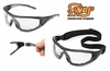 "21MA20 SWAP&#174 MAG BIFOCAL PROTECTIVE EYEWEAR W/CLEAR ANTI-FOG LENS<font color=""000000"">"