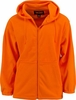 2313-84 POLY FLEECE ZIPPERED HOODIE