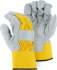 2501CY  BEST GRADE SPLIT COWHIDE LEATHER WORK GLOVES