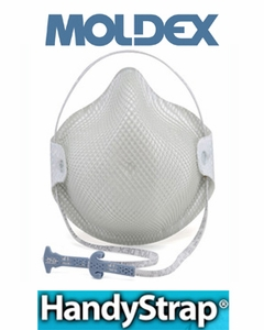 "2600 MOLDEX&#174 N95 PARTICULATE RESPIRATOR W/HANDYSTRAP&#174<font color=""000000"">"