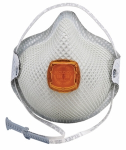 "2800 MOLDEX® N95 ORGANIC VAPOR/OZONE RELIEF PARTICULATE RESPIRATOR W/HANDYSTRAP®<font color=""000000"">"