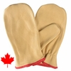 31-102 PREMIUM COWHIDE UNLINED CANADIAN CHOPPER MITTENS
