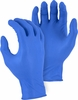3275 5-6mil PREMIUM INDUSTRIAL GRADE POWDERED BLUE NITRILE DISPOSABLE GLOVES