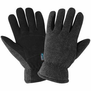 3300DSIN PREMIUM 100g COLD KEEP® INSULATED SOFT SUEDE DEERSKIN SPLIT PALM DRIVERS STYLE GLOVES