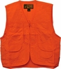 3353-84 ADULT FRONT LOADER BLAZE ORANGE HUNTING VEST