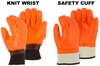 3370 & 3371 WINTER LINED HI-VIS PVC WORK GLOVES