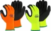 3396HO/HY POLAR PENGUIN&#174 INSULATED HI-VIS HEAVYWEIGHT KNIT LATEX PALM COATED WINTER/FREEZER GLOVES