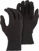 3401R MID-WEIGHT 8oz COTTON BROWN JERSEY GLOVES