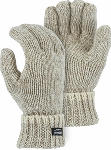 3423  DELUXE QUALITY FULL FINGERED RAGG WOOL THINSULATE&#153 LINED GLOVES