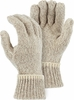 3425 UNLINED RAGG WOOL FULL FINGERED GLOVES/LINERS