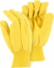 3459 HEAVY DUTY 18oz DOUBLE WOVEN COTTON YELLOW CHORE GLOVES