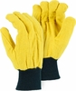 3460 HEAVY DUTY 14oz DOUBLE WOVEN COTTON YELLOW CHORE GLOVES