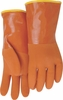 3703  HEAVY DUTY PVC WATERPROOF GLOVES W/THERMAL TERRY KNIT LINER<br>CLOSEOUT PRICE $9.99