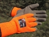 3888 iON CHILL&#153 10 GAUGE HI-VIS ORANGE ACRYLIC THERMAL KNIT GLOVES W/FOAMED SAND LATEX FINISH ON PALM & FINGERS<br>CLOSEOUT PRICE $3.99