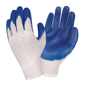 "3893-B ""COBRA POWER GRIP"" RUBBER DIPPED ALL PURPOSE WORK GLOVES<BR>BULK"
