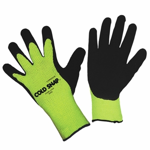 3999 COLD SNAP&#153 THERMAL TERRY KNIT INSULATED WINTER FOAMED LATEX GLOVES