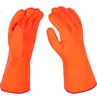 4184  THERMAL FOAM LINED CHEMICAL RESISTANT & WATERPROOF PVC RUBBER GLOVES