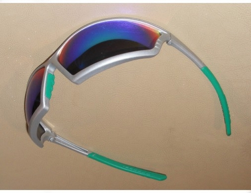 41SL3M 4X4&#153 SPORT SAFETY GLASSES WITH BLUE MIRROR LENS<BR>CLOSEOUT PRICE $2.99