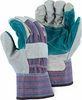 4501CDP DOUBLE PALM SPLIT COWHIDE LEATHER WORK GLOVES