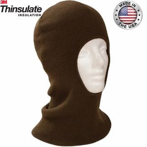 4T027 CLASSIC KNIT THINSULATE&#153 INSULATED FACE MASK<br>CLOSEOUT PRICE $6.99