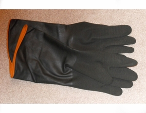 """5214 CHEMICAL RESISTANT 14"""" BUTYL RUBBER GLOVE<font color=""""000000"""">"""