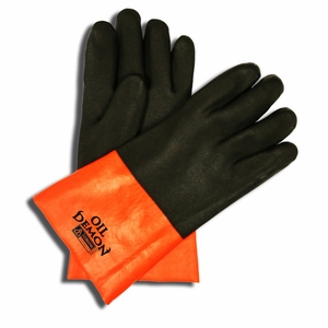 5312J OIL DEMON&#153 DOUBLE DIPPED PVC JERSEY LINED OIL & CHEMICAL RESISTANT GLOVES