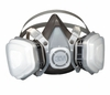 53P71 3M&#153 HALF MASK DUAL CARTRIDGE ORGANIC VAPOR/P95 DISPOSABLE RESPIRATOR