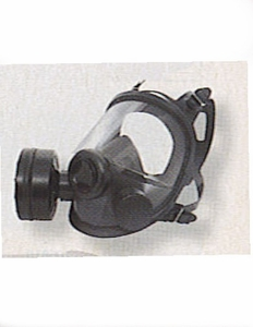 """54501- """"NORTH SAFETY"""" NIOSH APPROVED GAS MASK  ...WITH OUT CANISTER"""