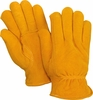 5519 SIZE SMALL WINTER HEATSAVER&#174 THERMAL LINED SUEDED DEERSKIN DRIVERS STYLE GLOVES<BR>CLOSEOUT PRICE $5.99