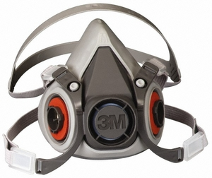 6000 SERIES 3M&#153 REUSABLE HALF FACEPIECE RESPIRATOR