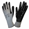 6894 COR-TOUCH II BLACK NITRILE FLEXIBLE WORK GLOVES