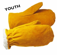7044B YOUTH HEAVY SHERPA PILE LINED CHOPPER MITTS