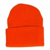80176-BLZ CLASSIC SUPERSTRETCH BLAZE ORANGE KNIT CUFF HAT