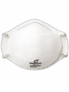 "80301 GATEWAY TRUAIR™ N95 PARTICULATE RESPIRATOR NON VENTED DUST MASKS<font color=""000000"">"