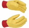 814 YELLOW CHORE GLOVES 14oz WEIGHT