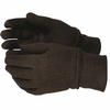 820Y  YOUTH  HEAVY DUTY 9oz BROWN JERSEY GLOVES