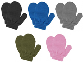 83196 TODDLER MAGIC STRETCH KNIT MITTENS