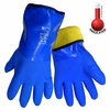 8490 INSULATED FROG WEAR&#153 PREMIUM SUPER FLEXIBLE TRIPLE DIPPED PVC GLOVES