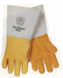 "850 TILLMAN&#153 TOP GRAIN ELKSKIN WELDERS GLOVES<font color=""000000"">"