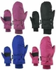 87165 GIRLS 4-6X WATERPROOF THINSULATE&#153 TUSSER SKI MITTENS