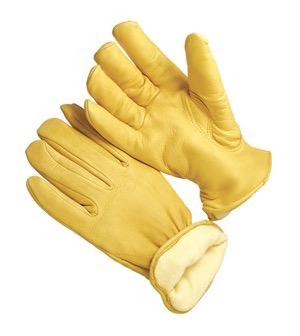 9-5464LHTH  PREMIUM DEERSKIN THINSULATE&#153; LINED GLOVES<BR>CLOSEOUT PRICE $14.99