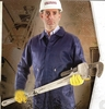 93730 ZIPPER CHEST COVERALLS