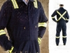 93732 ZIPPER CHEST COVERALL, TAPED